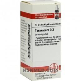 TARAXACUM D 3 Globuli 10 g