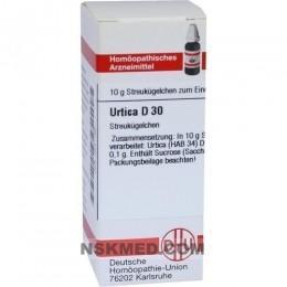 URTICA D 30 Globuli 10 g