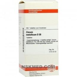 ZINCUM METALLICUM D 30 Tabletten 200 St