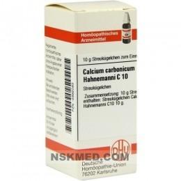 CALCIUM CARBONICUM Hahnemanni C 10 Globuli 10 g