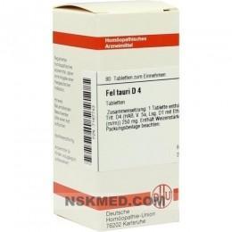 FEL TAURI D 4 Tabletten 80 St