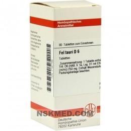 FEL TAURI D 6 Tabletten 80 St