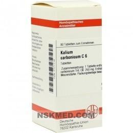 KALIUM CARBONICUM C 6 Tabletten 80 St