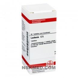 LACHESIS C 5 Tabletten 80 St