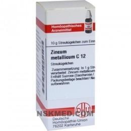 ZINCUM METALLICUM C 12 Globuli 10 g