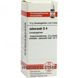 JABORANDI D 4 Globuli 10 g
