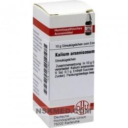 KALIUM ARSENICOSUM C 200 Globuli 10 g