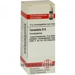 Тарантула кубинского разведение Д6 гранулы (TARANTULA D 6 Globuli) 10 g