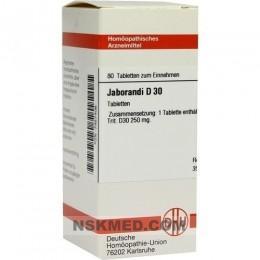 JABORANDI D 30 Tabletten 80 St