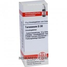 TARAXACUM D 30 Globuli 10 g