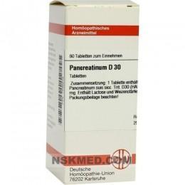 PANCREATINUM SUIS D 30 Tabletten 80 St