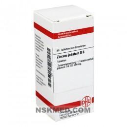 ZINCUM JODATUM D 6 Tabletten 80 St
