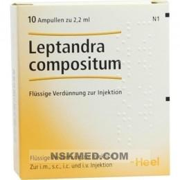 LEPTANDRA COMPOSITUM Ampullen 10 St