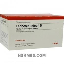 LACHESIS INJEEL S Ampullen 50 St