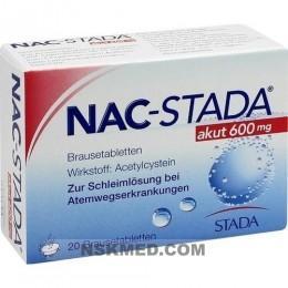 NAC STADA akut 600 mg Brausetabletten 20 St