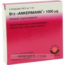 B12 ANKERMANN 1.000 μg Ampullen 5X1 ml