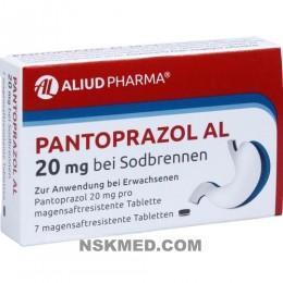 PANTOPRAZOL AL 20 mg bei Sodbr.magensaftres.Tabl. 7 St