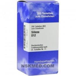 BIOCHEMIE 11 Silicea D 12 Tabletten 200 St