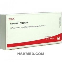 PANCREAS/ARGENTUM Ampullen 10X1 ml