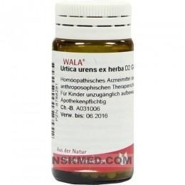URTICA URENS EX Herba D 2 Globuli 20 g