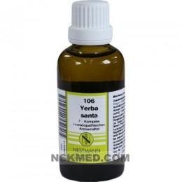YERBA SANTA F Komplex Nr.106 Dilution 50 ml