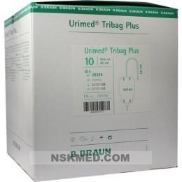 URIMED Tribag Plus Urin Beinbtl.500ml 40cm ster. 10 St
