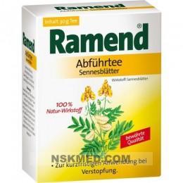RAMEND Abführtee Sennesblätter 30 g