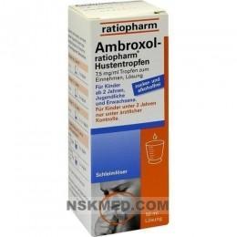 AMBROXOL ratiopharm Hustentropfen 50 ml