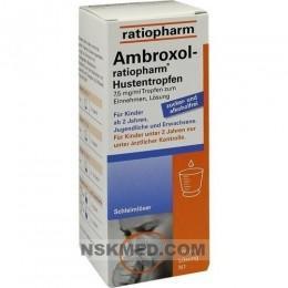 AMBROXOL ratiopharm Hustentropfen 100 ml