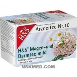 H&S Magen- und Darmtee mild Filterbeutel 20 St