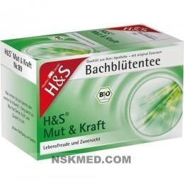 H&S Bachblüten Mut & Kraft-Tee Filterbeutel 20 St