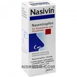 NASIVIN 0,05% Erw.u.Schulkinder Nasentropfen 10 ml