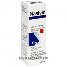 NASIVIN 0,05% Erw.u.Schulkinder Nasendosierspray 10 ml