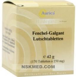 FENCHEL GALGANT Lutschtabl. Aurica 170 St