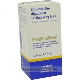 CHLORHEXIDINDIGLUCONAT Fertiglösung 0,2% 200 ml