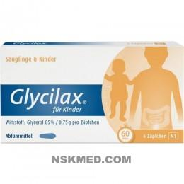GLYCILAX Suppos. f. Kinder 6 St