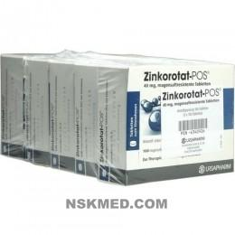 Цинкоротат-POS (ZINKOROTAT POS) magensaftresistente Tabletten 500 St