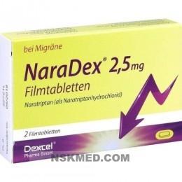 NARADEX 2,5 mg Filmtabletten 2 St