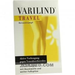 VARILIND Travel 180den AD XL BW anthrazit 2 St