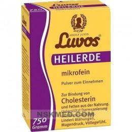 Лувос/Лювос порошок (LUVOS) Heilerde mikrofein Pulver zum Einnehmen 750 g