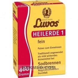 Лувос (LUVOS) Heilerde 1 fein 480 g