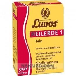 Лувос (LUVOS) Heilerde 1 fein 950 g