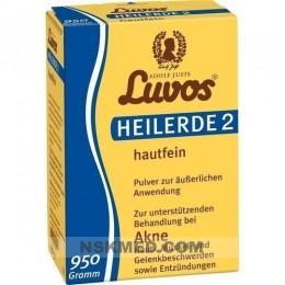 Лувос/Лювос глина косметическая (LUVOS Heilerde 2 hautfein) 950 g