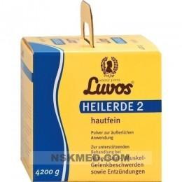 Лувос/Лювос глина косметическая (LUVOS Heilerde 2 hautfein) 4200 g