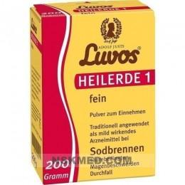 Лувос (LUVOS) Heilerde 1 fein 200 g