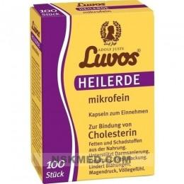Лувос/Лювос глина в капсулах (LUVOS) Heilerde mikrofein Kapseln 100 St