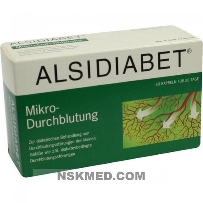 Alsidiabet Diabetiker Mikro Durchblutung
