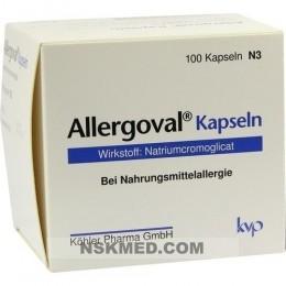 Аллерговал капсулы (ALLERGOVAL Kapseln) 100 St