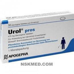 UROL PROS überzogene Tabletten 30 St