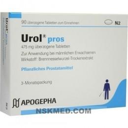 UROL PROS überzogene Tabletten 90 St
